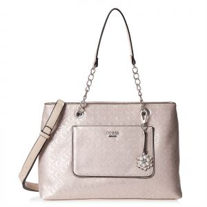 Guess Shoulder Bag For Women Light Pink