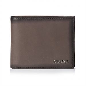 f207bccd7a Guess Bifold Wallet For Men - Brown