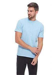ba6f9e634ef Fruit Of The Loom Blue Round Neck T-Shirt For Men