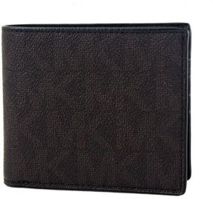 81f33317aef4 Michael Kors Signature PVC Jet Set Mens Billfold Wallet