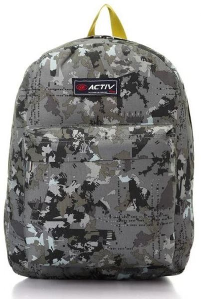 e9dbfa5949 Activ Map Pattern Army Green Boys Backpack