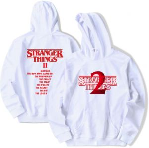 American TV Series Stranger Things 2 Hoodies Soft Comfortable Cotton Round  Neck Pullover Swatshirt Tops Hoodie for Men Woman 1c3f7d962