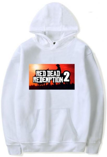 45405a72 Red Dead Redemption 2 Unisex 3D Fashion Digital Graphic Print Pullover White  Hoodie Hooded Sweatshirt | Souq - UAE