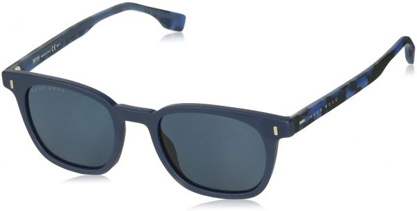 Hugo Boss Rectangle Sunglasses for Unisex - Grey Lens