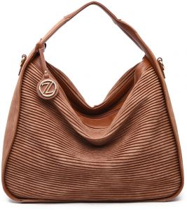 Zeneve London Handbag for Women Brown 125e2972c5e6e