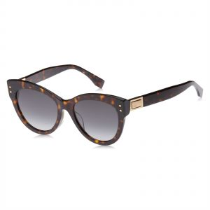 0b9a73e5d8ec Fendi Wayfarer Sunglasses for Women - Grey Lens