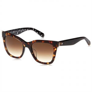 4bffc9cd24139 Kate Spade Square Sunglasses for Women - Brown Lens