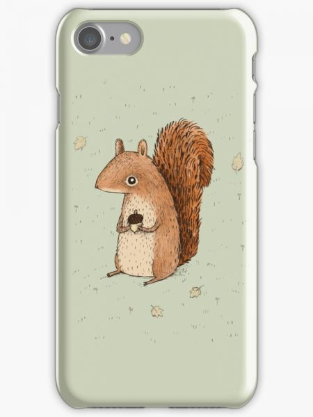 Sarah the Squirrel Phone Case for Apple Iphone 7 | Souq - Egypt