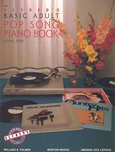 alfreds basic adult pop song piano book level 1 2463
