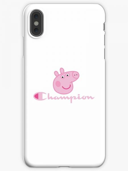 newest 1eabb e6a14 CHaMPION - Peppa Pig Phone Case for iPhone XS Max | KSA | Souq
