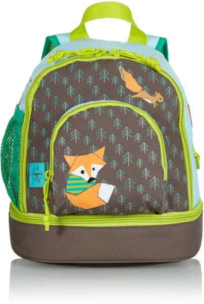 32444f091bec Lassig Kids Kindergarten Backpack Little Tree Fox