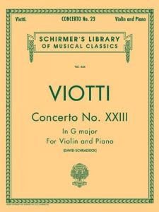concerto no 1 in a minor violin with piano accompaniment schirmers library of musical classics