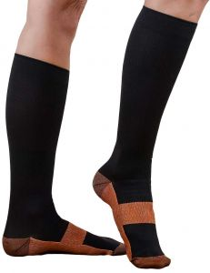 d6abff2411 PU Health Copper-infused Pain-relief Compression Socks, 3 Piece, 1 Pound