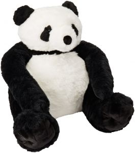 Melissa   Doug Giant Panda Bear - Lifelike Stuffed Animal (over 2 feet tall) 3e85199bfb