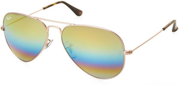 934d8fe4f0ea Ray-Ban Unisex-Adult Aviator Large Metal Non-Polarized Aviator Sunglasses