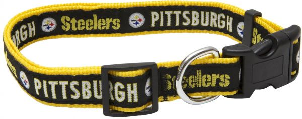 Pets First NFL Pittsburgh Steelers Pet Collar 8991a12be