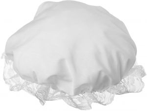 a454784acb8 Colonial Mob Mop Hat-Halloween Costume Accessory-White