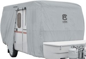 Classic Accessories 80-404-171001-RT PermaPro RV Cover for 14-16 Long Folding Camping Trailers