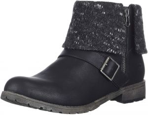 0f092b3e8dc Rocket Dog Women s Bentley Lewis PU Finland Fabric Ankle Boot
