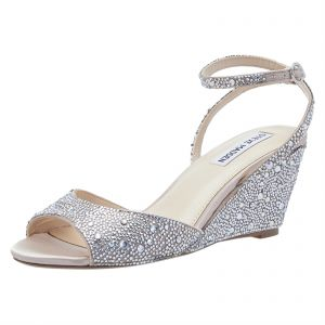 539a6b7af Sale on shetos silver wedge for women 10493947