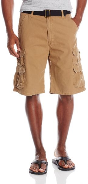 1dc03afbe5 Wrangler Authentics Men's Premium Relaxed Fit Twill Cargo Short. by Wrangler,  Shorts - 1,394 ratings