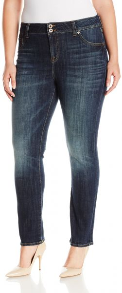 af68588ad9b Lucky Brand Women s Plus Size High Rise Emma Straight Jean in Tiburon. by  Lucky Brand