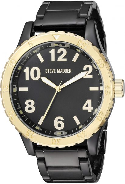67d981292e6 Steve Madden Men s Quartz Metal and Alloy Watch