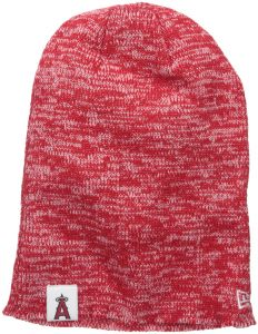 New Era MLB Los Angeles Angels Women s Team Blend Long Knit Beanie 86cdd9030729