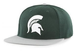 7d6a7683f0382 OTS NCAA Michigan State Spartans Adult Gallant Varsity Snapback Adjustable  Hat