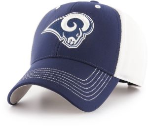 buy online d4bac 2a40e OTS NFL Los Angeles Rams Sling All-Star MVP Adjustable Hat, Light Navy, One  Size
