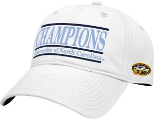 online retailer cf621 355b8 NCAA North Carolina Tar Heels 2017 Basketball Champions Relaxed Twill Hat,  White, Adjustable Size