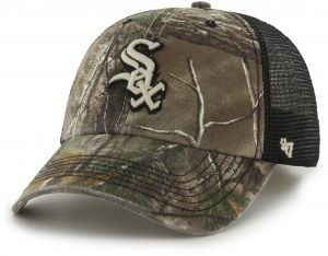 quality design eefbe 587f2 MLB Chicago White Sox  47 Huntsman Closer Camo Mesh Stretch Fit Hat, One  Size, Realtree Camouflage