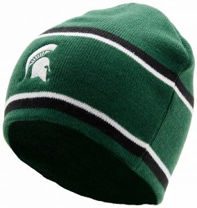 1042bfd52ec Ouray Sportswear NCAA Michigan State Spartans Adult Women Holloway Engager  Beanie