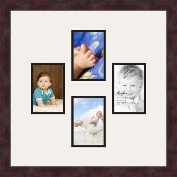 Art to Frames Double-Multimat-498-61/89-FRBW26061 Collage Frame ...