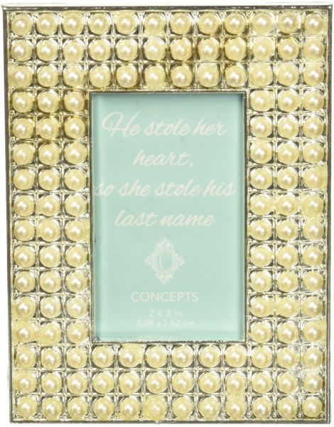 Time Concept Concepts In 2x3 Pearls Rectangle Metal Frame 2 X 3