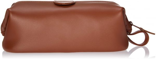 0c347fb876fa Royce Leather Travel Toiletry Wash Bag in Leather