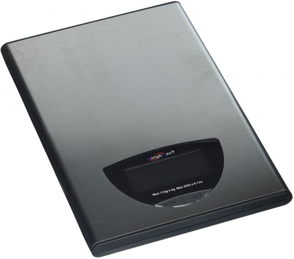 Weighmax Stainless Steel Digital Multifunction Kitchen Scale and Food  Scale, 25-Pound