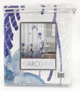 Caro Homes Cloisters Shower Curtain In Lavender Mist