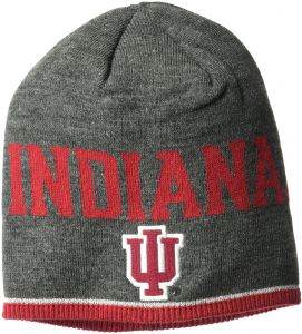 huge discount 0e737 6efd8 adidas NCAA Indiana Hoosiers Player Beanie, One Size, Gray