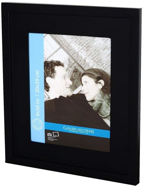 Burnes Of Boston 16x20 Wall Picture Frame With Double White Mat For