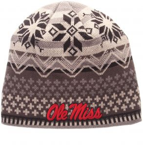 fe0d3737dce Zephyr NCAA Mississippi Old Miss Rebels Men s Oslo Knit Beanie