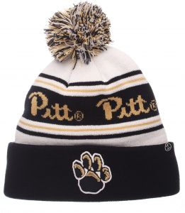 4373cea0a6c Zephyr NCAA Pittsburgh Panthers Adult Men Finish Line Arctic Beanie