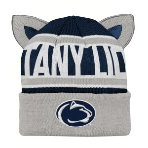 outlet store 62b7b f99e4 NCAA Penn State Nittany Lions Infant Team Ears Cuffed Knit Hat, Infant One  Size, Dark Navy