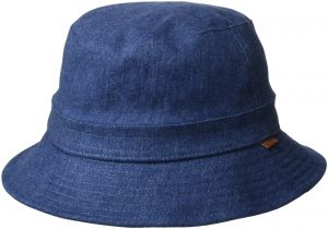 6330f25aa86e1 Kangol Men s Quilted Denim Hunter Bucket Hat