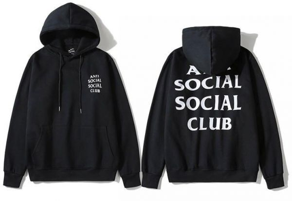7d5f086f5727 Anti Social Social Club Classic Hoodie Black Assc Ins Hot Unisex Hooded  Sweatshirt For Men And Women