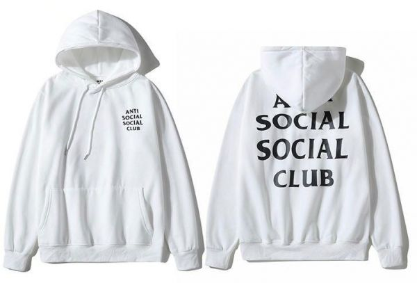 b910df0834c0 Anti Social Social Club Classic Hoodie White Assc Ins Hot Unisex Hooded  Sweatshirt For Men And Women