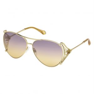 dca98437a7 Roberto Cavalli aviator Sunglasses for Women - RC1057-32G 61