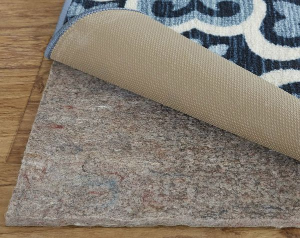 Mohawk Home Dual Surface Felt And Latex Non Slip Rug Pad 2 X8 1 4 Inch Thick Safe For Hardwood Floors All Surfaces
