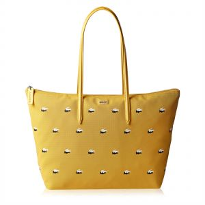 cf0c0b4517f6 Lacoste Tote Bag for Women - Yellow