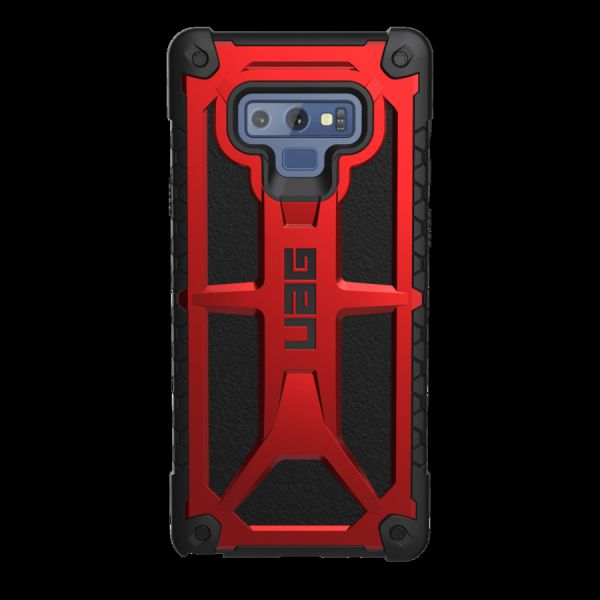 new products b5be2 efd8f UAG Monarch Series Hard Back Cover Case Compatible for Samsung Galaxy Note  9, Crimson Red